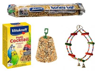 Bird Treats & Toys